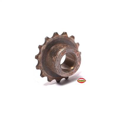 NOS derbi output shaft chain gear - drive shaft sub assembly