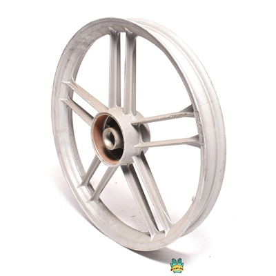"fantic motor front 16"" five star mag wheel - grey - TOTALLY NUDE"
