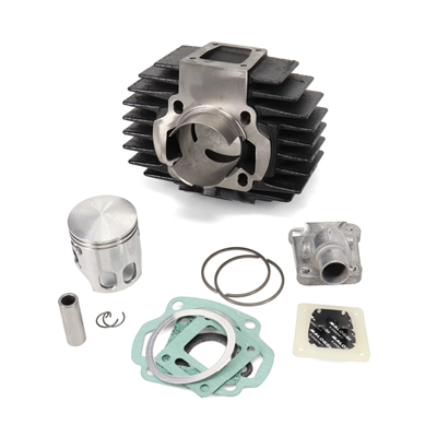 garelli NOI malossi 70cc 44.5mm reed valve cylinder kit