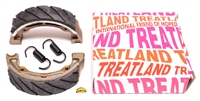 treatland's SUPER HIGH QUALITY brake shoes - 90x20