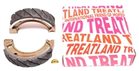 treatland's SUPER HIGH QUALITY brake shoes - 80x17
