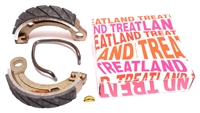 treatland's SUPER HIGH QUALITY brake shoes - 90x18 (circle type)