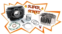 honda hobbit 46mm SUPER STREET kit pack with custom cut head