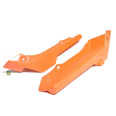 honda PERFECTO series hobbit floorboard SET - ORANGE