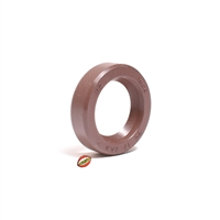 honda hobbit oversize VITON crankshaft seal - 17 x 25.5 x 7 - BROWN