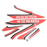 black model 1982 Honda MB5 complete decal set