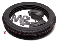 honda MB5 STOCK size tire party in 18 x 2.50