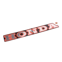 OEM honda nu50 urban express decal - red and black and silver
