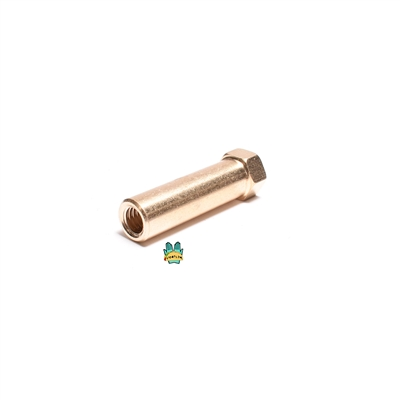 M6 EXTENDO brass exhaust nut - 35mm long