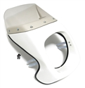 puch MAGNUM LTD headlight fairing - WHITE