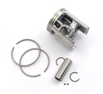 malossi vespa piston for 43mm cylinders - 10 pin