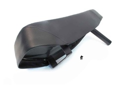 new puch maxi moped long seat with LOW BRACKET