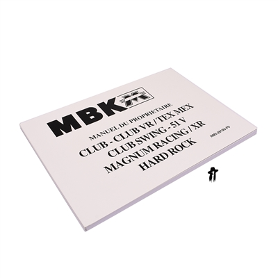 MBK club / club VR / tex mex / magnum / hard rock owners manual - version 1