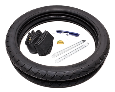 "sava mc11 17"" x 2.25"" tire party PRO PACK with tools!"