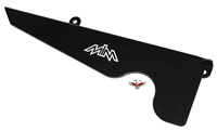 MLM puch maxi black PEDAL CHAIN GUARD - right side