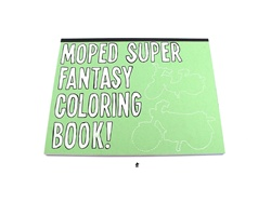 moped super fantasy coloring book