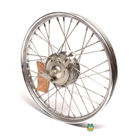 "NOS oem 16"" tomos a3 bullet front spoke wheel"