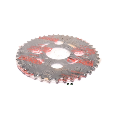 NOS original derbi rear sprocket - 42T