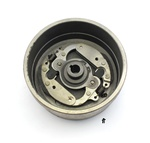 vespa piaggio olympia variated clutch bell - COMPLETE with starter clutch