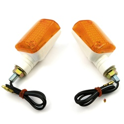 orange turn signals marker lights