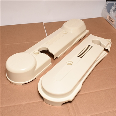 honda hobbit PERFECTO series subframe sidecover SET - CREAM