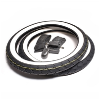 "honda passport ca102 c70 17"" WHITE WALL racing tire party"