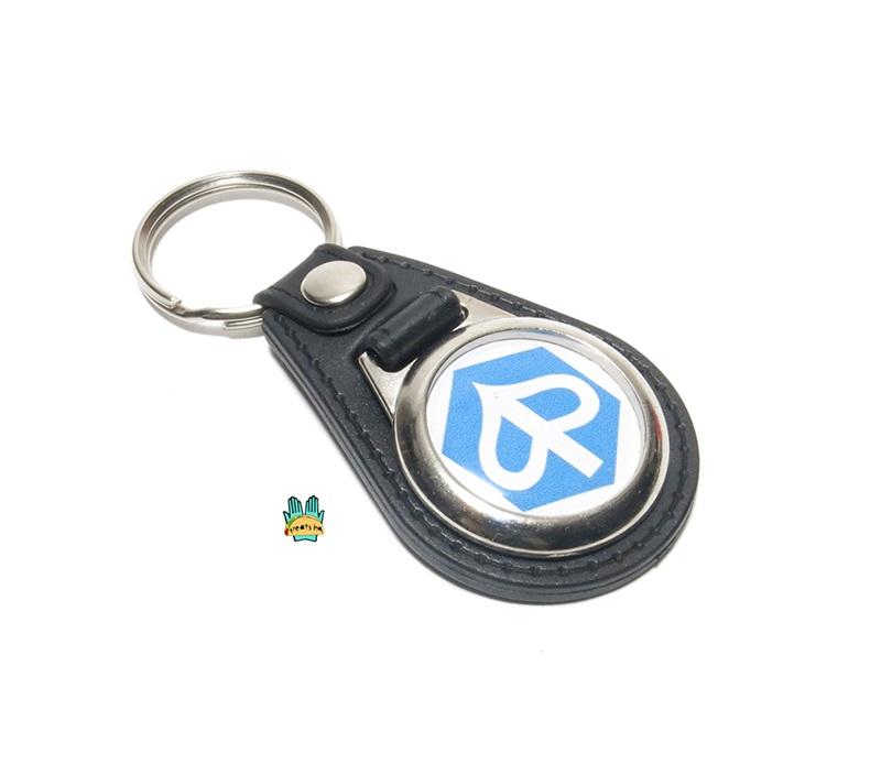 Branded Automotive Merchandise Vespa Leather Keyring
