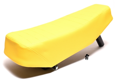 puch SOFT long seat - YELLOW