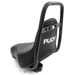 PUCH moped black chopper dude seat