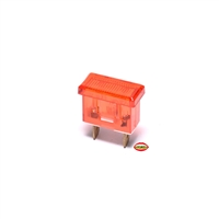 puch magnum limited dash rectangle light bulb - RED
