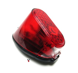 a modern take on the classic design of puch maxi tail light
