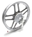 "puch monza white 16"" five star rear mag wheel"