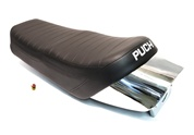 puch monza seat with chrome tail piece
