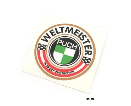 Puch Moped Weltmeister Decal