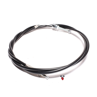"puch FREESPIRIT n MAGNUM ""wtohtmifp"" REAR brake cable - 1650mm"