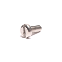 puch stator plate stainless steel pan head slotted screw - m4 x 12mm