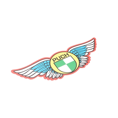 puch WING sticker with lots of colors