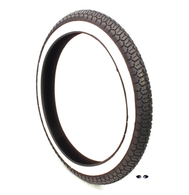 sava B4 WHITE WALL moped tire - 17in x 2.25
