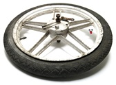 "USED 16"" front FONDER MONTE five star mag wheel"