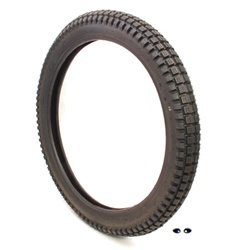 shinko knobby 17x2.75 moped tire