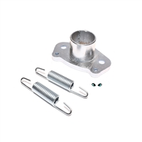 simonini peugeot exhaust flange and spring set - NOT threaded