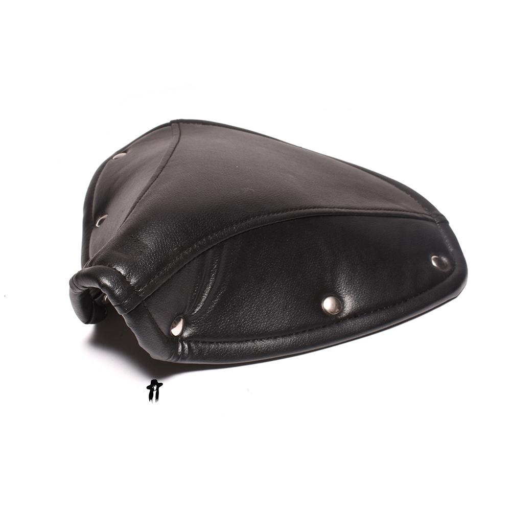 Tremendous Solex Leather Seat Cover Black Version 2 Ibusinesslaw Wood Chair Design Ideas Ibusinesslaworg