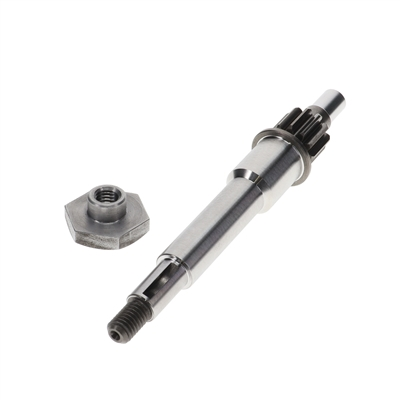 vespa piaggio single speed to VARIATED conversion input shaft!!