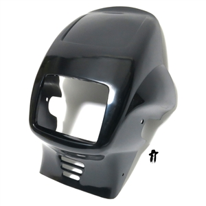 original OEM tomos black headlight fairing