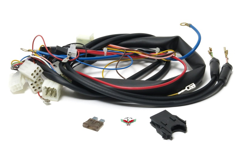 tomos OEM main wiring harness for early revival on trailer harness connectors, ford car harness connectors, ecm harness connectors, wire connectors, gm delphi connectors, signal harness connectors, quick disconnect connectors, saturn a c clutch harness connectors, oem ford trailer wiring harness, cable connectors, battery connectors, automotive fuse box connectors, auto electrical harness connectors, oem terminals connectors, bullet connectors, power supply connectors, car wiring connectors,