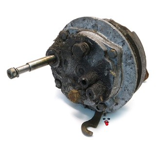 USED vespa variated gearbox - no pedal disengagment switch