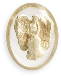 Courage Angel Pocket Stone