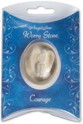Courage Angel Pocket Stone Pillow Packed