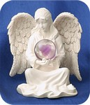 Heart Blessing Angel Figurine