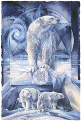 In Following Dreams, Destiny Is Found  mystical visionary  Art Print